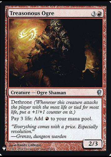 Treasonous Ogre - FOIL (Treasonous Ogre)